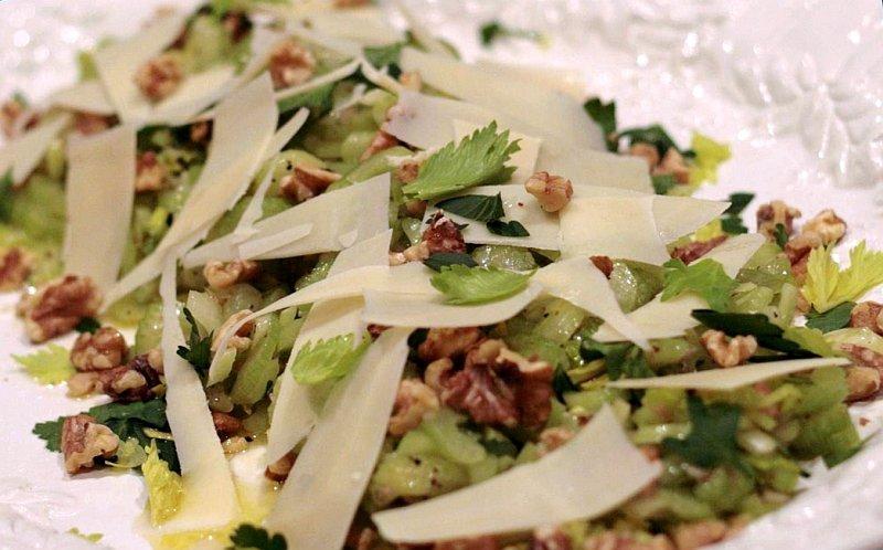 Салаты из корневого сельдерея рецепты с фото