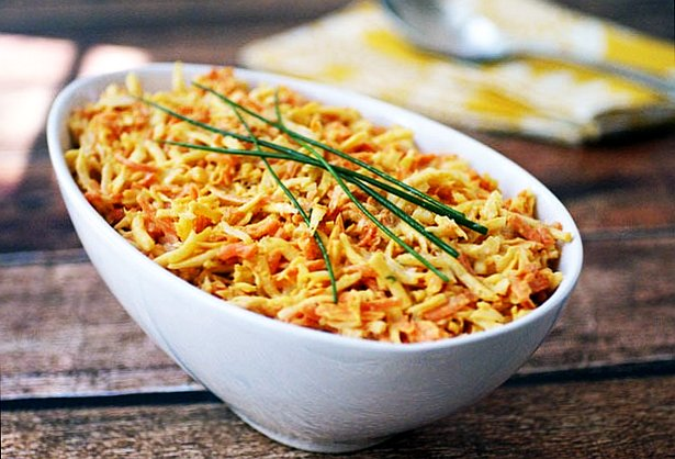 30 Салат из корневого сельдерея рецепт