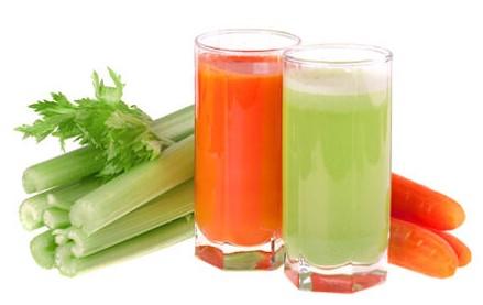 Чем полезен сок моркови и сельдерея