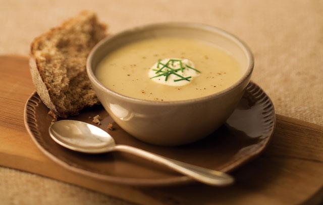 Суп-пюре из корневого сельдерея